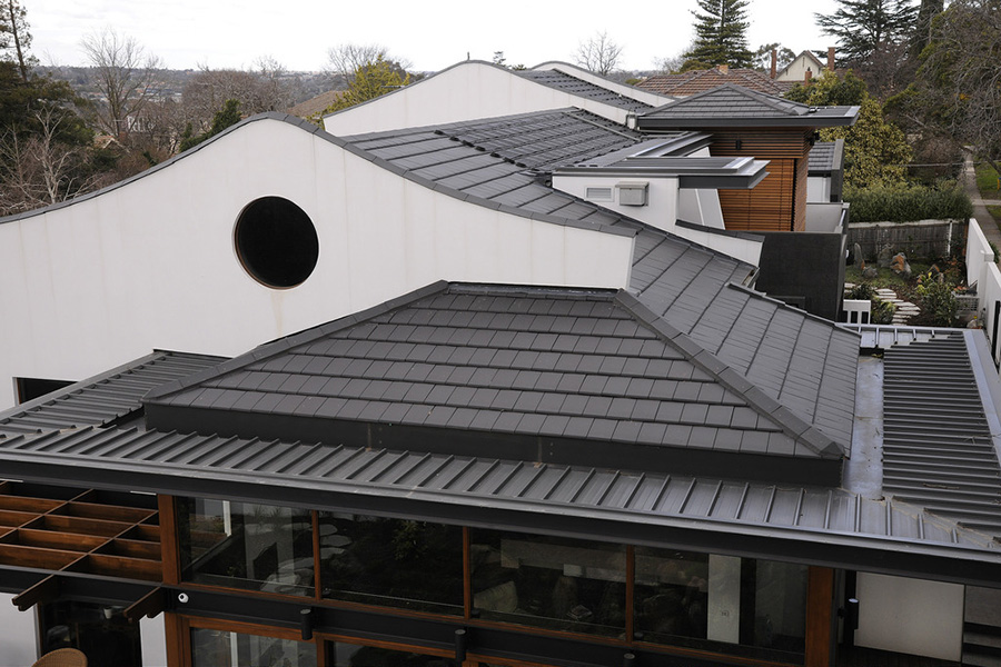 Planum Flat Profile Clay Roof Tiles