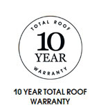 10 Year Total Roof Warranty