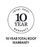 10 Year Total Roof Warranty