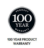 100 Year Product Warranty