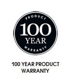100 Year Product Warranty