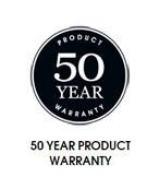 50 Year Product Warranty