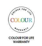 Colour Warranty for Life