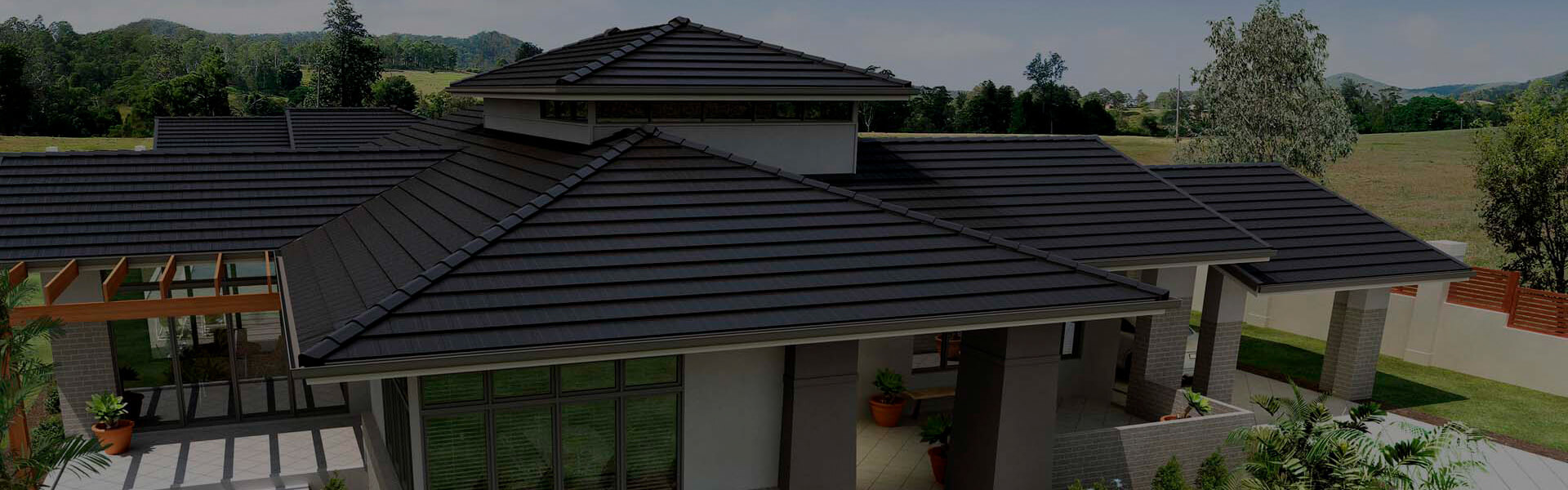 Concrete Roof TIles - Terracotta Concrete Roofing