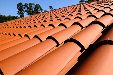 Terracotta Concrete Tiles