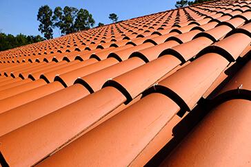 Terracotta Concrete Tiles